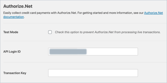 authorize net payment form api key